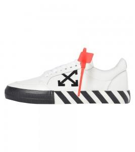 Кроссовки Off-White Vulc Sneaker 'White Black' 2020