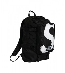 Рюкзак Supreme х The North Face S Logo Expedition Backpack Black - Фото №2