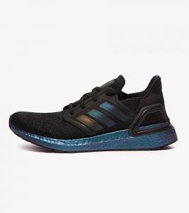 Кроссовки Adidas Ultra Boost Black Signal Cyan