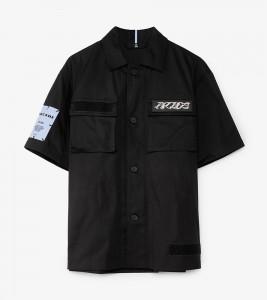 Рубашка MCQ Sleeve Velcro Shirt