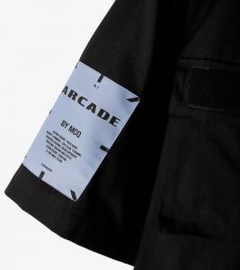 Рубашка MCQ Sleeve Velcro Shirt - Фото №2