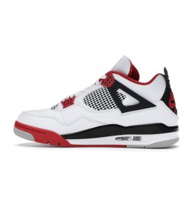 Кроссовки Air Jordan 4 Retro Fire Red 2020 - Фото №2