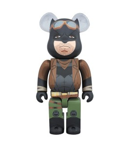 Bearbrick Knightmare Batman 400% Brown