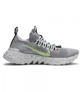 Кроссовки Nike Space Hippie 01 Grey Volt - Фото №2