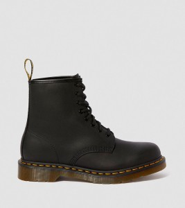 Ботинки Dr. Martens 1460 GREASY LEATHER LACE UP BOOTS