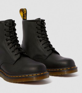 Ботинки Dr. Martens 1460 GREASY LEATHER LACE UP BOOTS - Фото №2