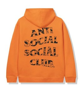 Худи Anti Social Social Club Country Orange