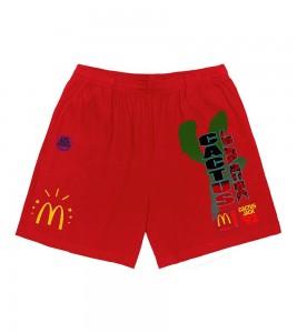Шорты Travis Scott x McDonald's All American '92 Shorts Red