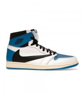 Кроссовки Jordan 1 High OG SP Fragment x Travis Scott