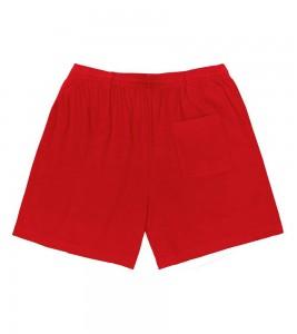 Шорты Travis Scott x McDonald's All American '92 Shorts Red - Фото №2