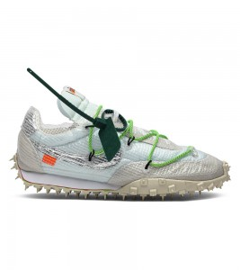 Кроссовки Off-White x Nike Wmns Waffle Racer Electric Green
