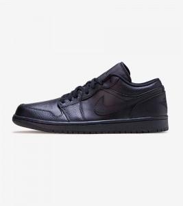 Кроссовки Jordan Air Jordan 1 Low Triple Black