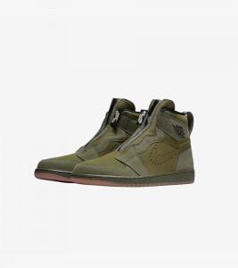 Кроссовки Air Jordan 1 High Zip  - Фото №2