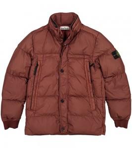 Куртка Stone Island Crinkle Reps Jacket Burgundy