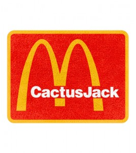 Ковер Travis Scott x McDonalds CJ Arches Rug