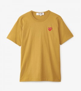 Футболка Comme des Garсons Play PLAY Men - RED HEART