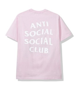 "Футболка Anti Social Social Club Catchem ""A"" (FW19) Pink"