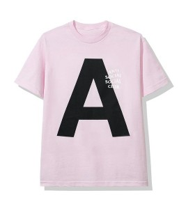 "Футболка Anti Social Social Club Catchem ""A"" (FW19) Pink - Фото №2"