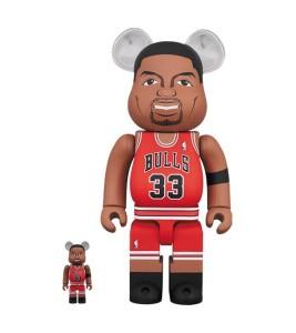 Bearbrick Scottie Pippen (Chicago Bulls) 100% & 400% Set