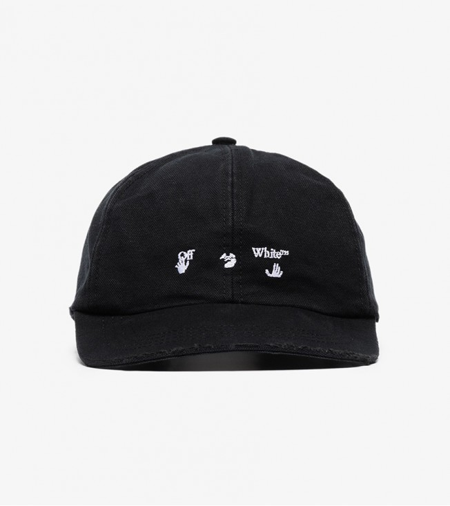 Off-White Black & White Logo Baseball Cap