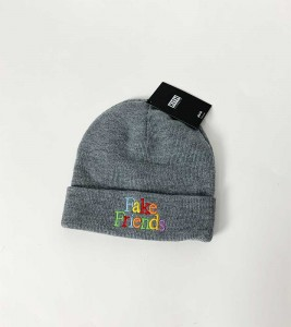 Шапка Kith Fake Friends Grey