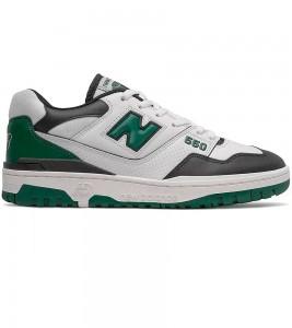 Кроссовки New Balance 550 White Green Black