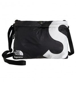 Сумка Supreme х The North Face S Logo Shoulder Bag Black