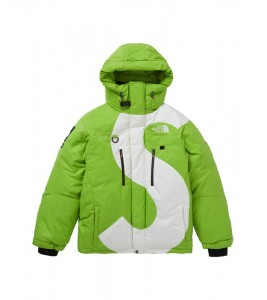 Куртка Supreme х The North Face S Logo Summit Series Himalayan Parka Lime