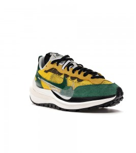 Кроссовки Nike Vaporwaffle sacai Tour Yellow Stadium Green - Фото №2
