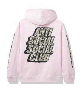 Худи Anti Social Social Club Kitten Pink