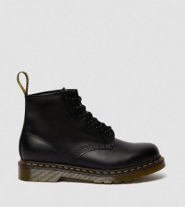 Ботинки Dr. Martens 101 SMOOTH LEATHER ANKLE BOOTS