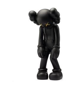 KAWS Small Lie Companion Vinyl Figure Black 28См