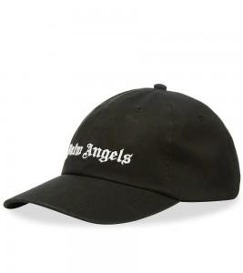 Palm Angels Black Classic Logo Cap - Фото №2