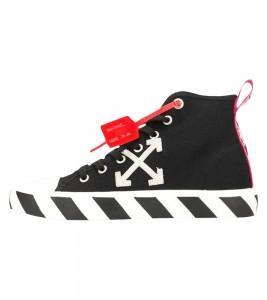 Кроссовки Off-White Vulc Sneaker Mid 'Black White'