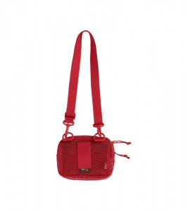 Сумка Supreme Small Shoulder Bag (SS20) Dark Red - Фото №2