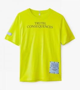 Футболка MCQ TRUTH CONSEQUENCES REGULAR TEE