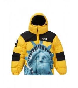 Куртка Supreme х The North Face Statue of Liberty Baltoro Jacket Yellow