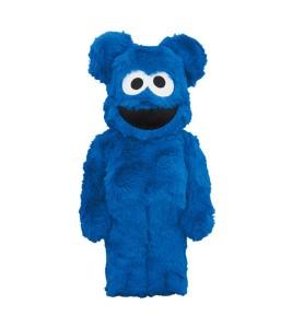 Bearbrick x Sesame Street Cookie Monster Costume Ver. 400%
