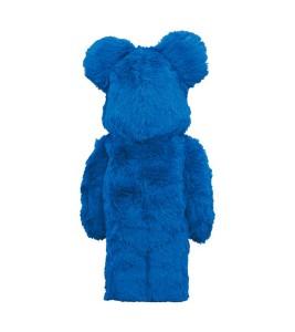Bearbrick x Sesame Street Cookie Monster Costume Ver. 400% - Фото №2