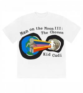 Футболка Kid Cudi CPFM For MOTM III Heaven on Earth T-Shirt White