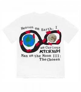 Футболка Kid Cudi CPFM For MOTM III Heaven on Earth T-Shirt White - Фото №2