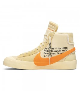 Кроссовки Off-White x Nike Blazer Mid All Hallows Eve - Фото №2