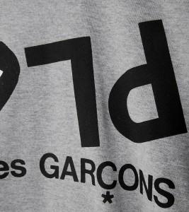 Футболка Comme des Gar?ons Play Reserve Play Logo - Фото №2