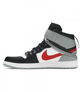 Кроссовки Air Jordan 1 Flyease Black Particle Grey - ???? ?20