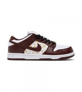 Кроссовки Nike Supreme x Dunk Low OG SB QS 'Barkroot Brown'