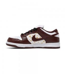 Кроссовки Nike Supreme x Dunk Low OG SB QS 'Barkroot Brown' - Фото №2