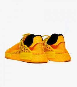 Кроссовки adidas Pharrell x NMD Human Race Yellow - Фото №2