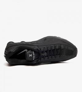 Кроссовки Nike Shox R4 Black - Фото №2
