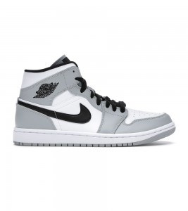 Кроссовки Air Jordan 1 Mid Light Smoke Grey