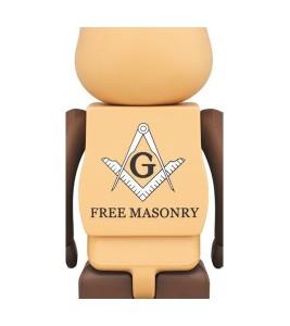 Bearbrick Freemasonry 100% & 400% Set Brown - Фото №2